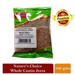NATURES CHOICE PREMIUM QUALITY WHOLE CUMIN SEED 100G