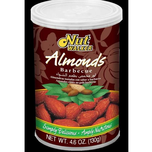 Nut Walker Almonds Barbecue Flavor 130 G