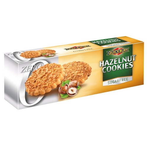 Quickbury Sugar Free Hazelnut Cookies