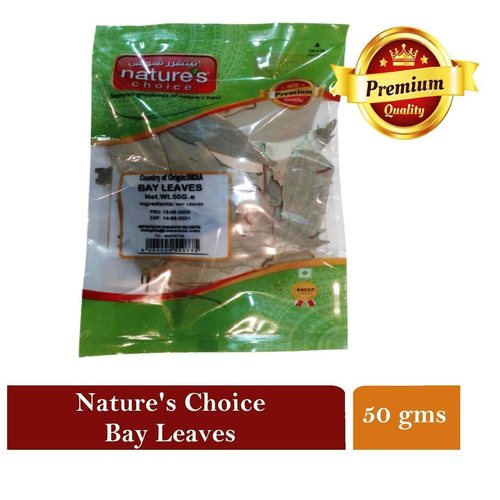 NATURES CHOICE PREMIUM QUALITY BAY LEAVES 50G