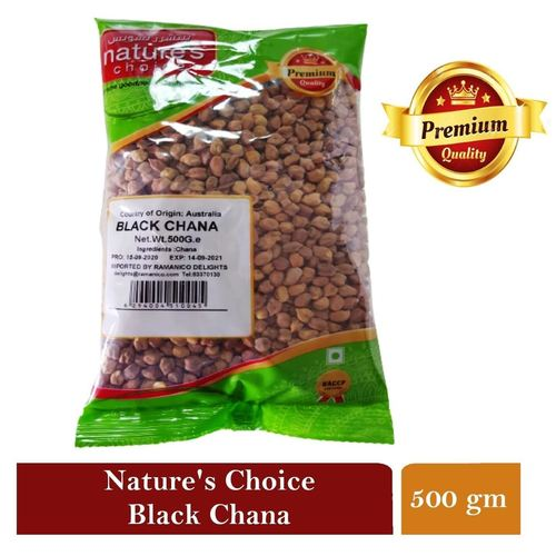 NATURES CHOICE PREMIUM QUALITY BLACK CHANA  500G