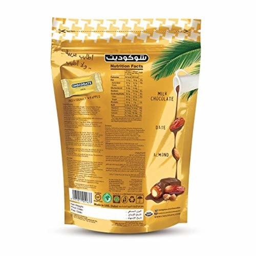 Chocodate Rich Milk Chocolate Date with Whole Almond 100GM