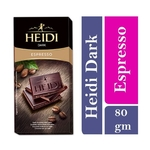 Heidi Dark Chocolate Bar with Coffee