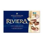 Riviera Premium Assorted Chocolate with Whole Hazelnuts, Cashews and Almonds in Milk, Dark and White Chocolate.