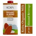 Koita Organic Almond Milk No Added Sugar 1 x 1L