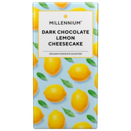 Millennium Dark Chocolate Bar with Lemon Cheesecake 100 G
