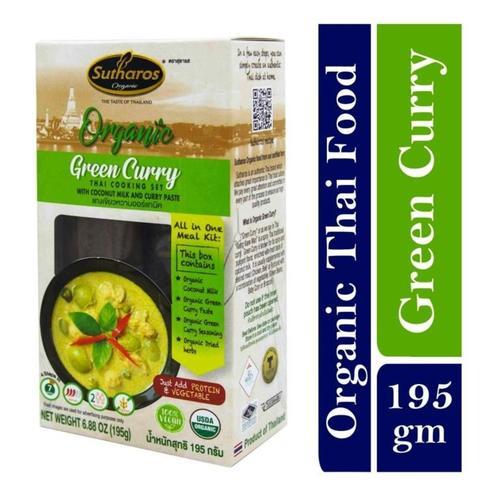 Sutharos Organic Thai Green Curry 1 x 195gm