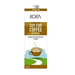Koita Organic Soy For Coffee Designed by Italian Barista No GMO 1Ltr