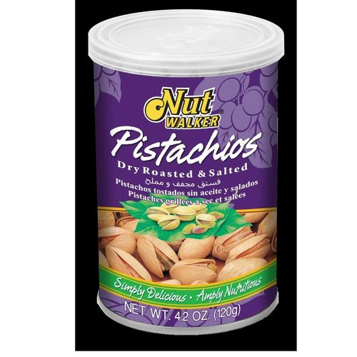 Nut Walker Pistachios Dry Roasted & Salted 120 G