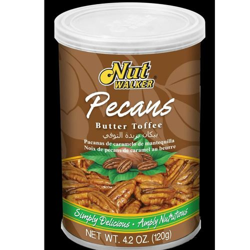 Nut Walker Pecan Nuts Butter Toffee Flavor 120 G