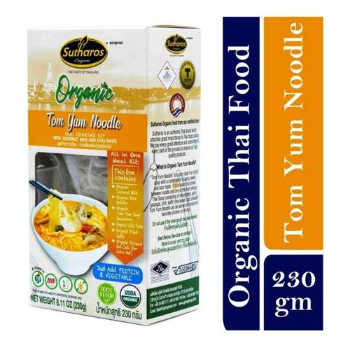 Sutharos Organic Thai Tom Yum Soup With Noodles 1 x 230gm