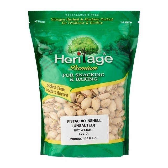 Heritage Pistachio In Shell Unsalted
