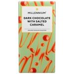 Millennium Dark Chocolate Bar with Salted Caramel 100 G