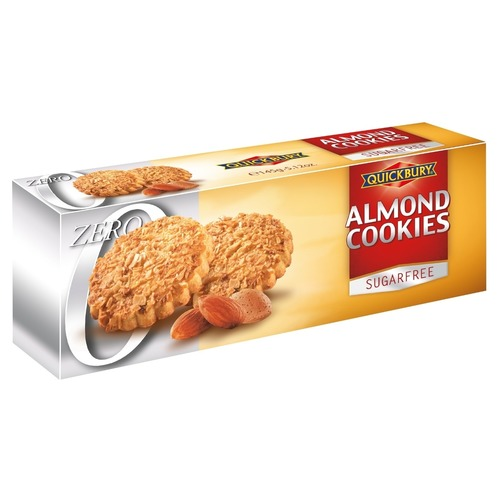 Quickbury Sugar Free Almond Cookies