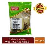 NATURE'S CHOICE PREMIUM QUALITY WHOLE GARAM MASALA 100G