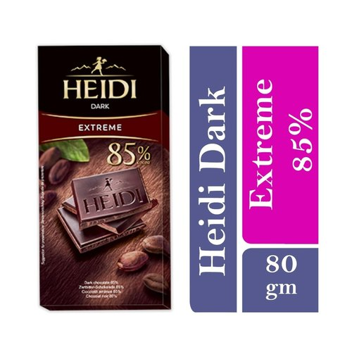Heidi Dark Extreme Chocolate Bar 85 Cocoa