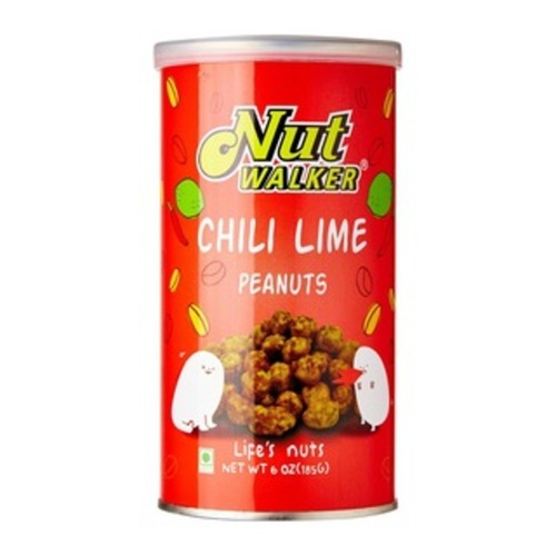 Nut Walker Peanuts Flavored With Chili Lime 185G