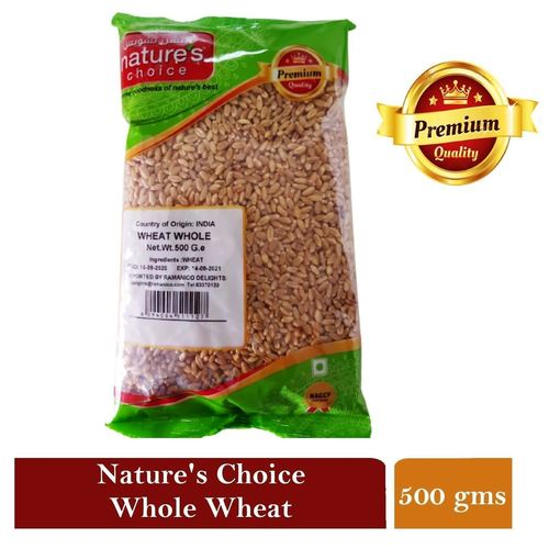 NATURES CHOICE PREMIUM QUALITY WHOLE WHEAT  500g