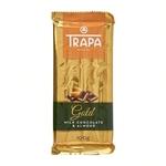 Trapa Gluten Free - Milk Chocolate Bar with Almond