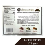 Banarasi Truffle Traditional Natural Mint Covered With Dark Chocolate Truffle 175gm
