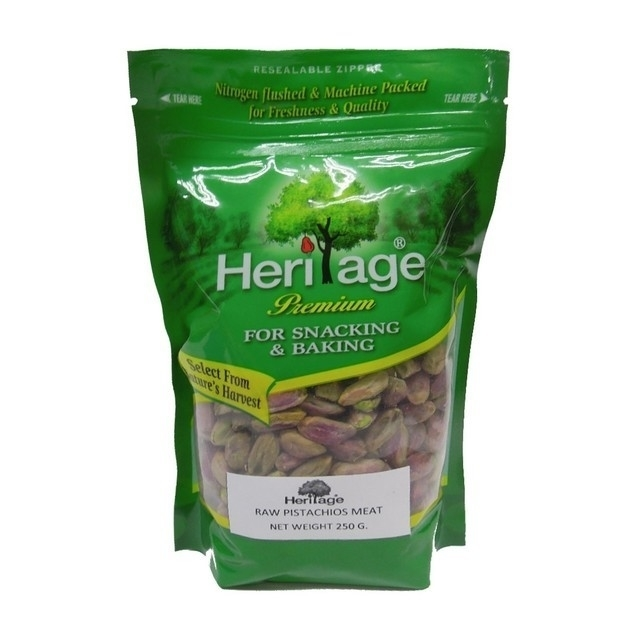 Heritage Raw Pistachios Meat