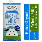 Koita Premium Organic Whole Milk 1 x 1L