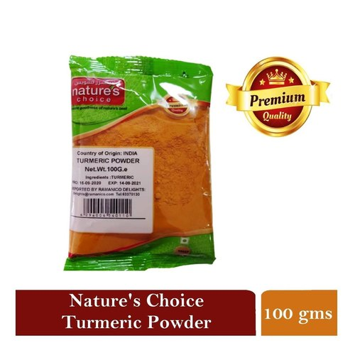 NATURES CHOICE PREMIUM QUALITY TURMERIC POWDER 100G