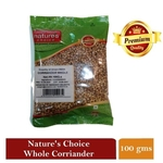 NATURES CHOICE PREMIUM QUALITY WHOLE CORIANDER SEED 100G