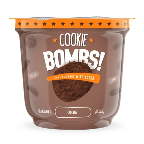 Bombs Mini Cookies with Cocoa Flavor
