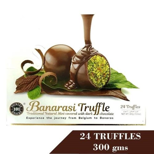 Banarasi Truffle Natural Mint Covered With Dark Chocolate 300G