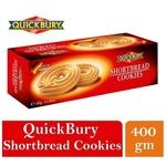 Quickbury Short Bread Cookies 1 x 400gm