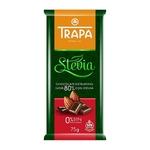 Trapa Sugar Free Dark Chocolate 80 with Stevia - Gluten