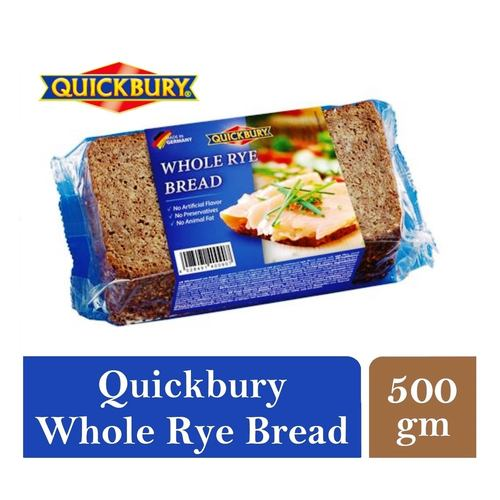 Quickbury Whole Rye Bread 1 x 500gm