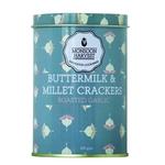 Monsoon Harvest Buttermilk & Millet Crackers - Roasted Garlic 1 X 100G