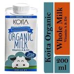 Koita Premium Organic Whole Milk 1 x 200ml