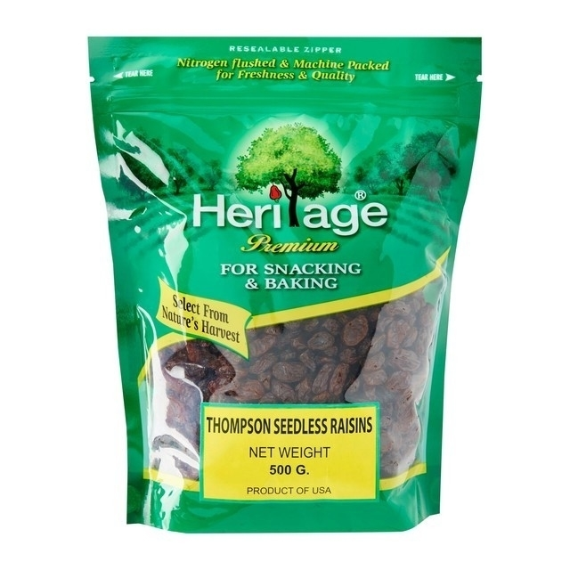 Heritage Thompson Seedless Black Raisin