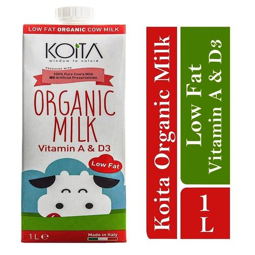 Koita Premium Organic Low-Fat Milk 1 x 1L