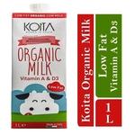 Koita Premium Organic Low-Fat Milk 1 x 1L