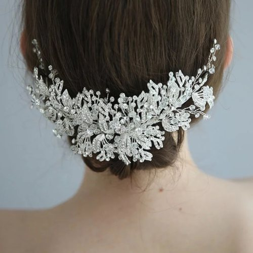 Crystal Bridal Headpiece  Wedding Hair Clip