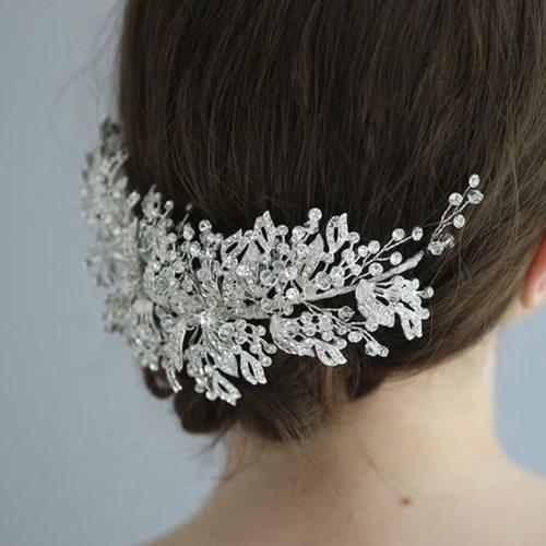 Crystal Bridal Headpiece  Wedding Hair Clip