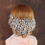 Clear Crystal Bridal Tiara Handmade