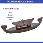 Wooden House Boat