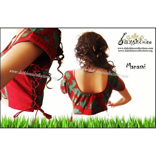 DKC6COA11-SCR048 - Designer ready to wear blouse