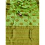 DSLC05 - Soft Linen Cotton weave Saree