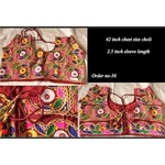 DKKWB032 -  Hand embroidered Kutch work Ready to wear blouse