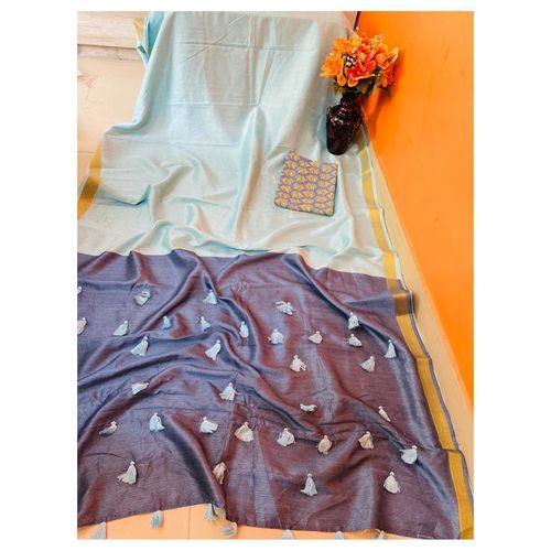 DCS09-  Pure Cotton Silk Sarees