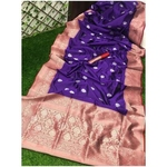 DSS06-  Soft Silk saree with silver zari border