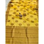 DSLC03 - Soft Linen Cotton weave Saree