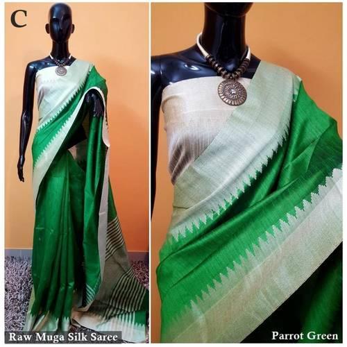 DKS11-  Khadi Raw silk Sarees