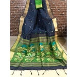 DJM01 - Linen Silk Jamdaani Saree